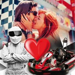 Karting para el enamoradas